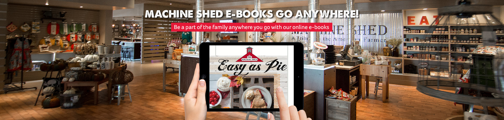 Machine Shed E-Books