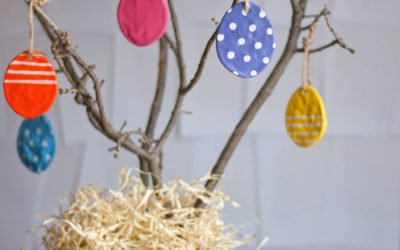 DIY Egg Ornaments!