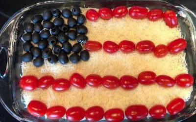 Red, White and Dip