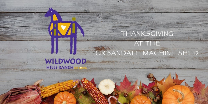 Thanksgiving at the Urbandale Machine Shed