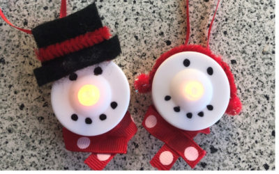 Tea Light Ornaments