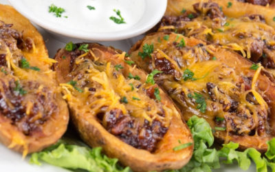 Brisket Potato Skins